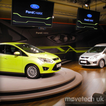 Ford C-Max / Revolving Stage / Rental