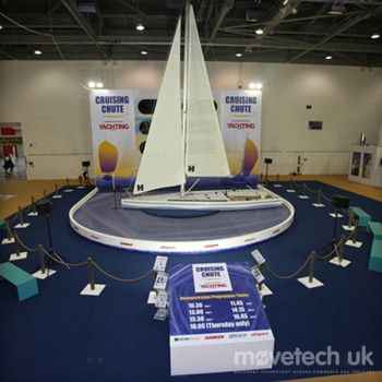 National Boat Show - Cruising Chute / Revolving Stage / Rental