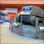 Tank Museum / Revolving Stage / Permanent Installation