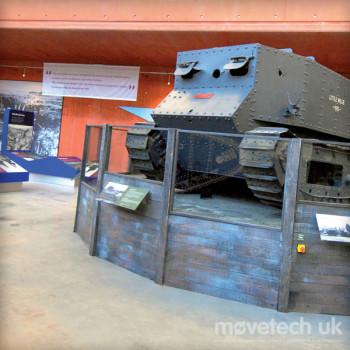 Tank Museum / Revolving Stage / Permanent Installation